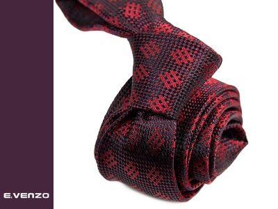 krawat jedwabny 553