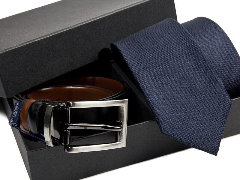 zestaw-krawat-pasek skórzany 481