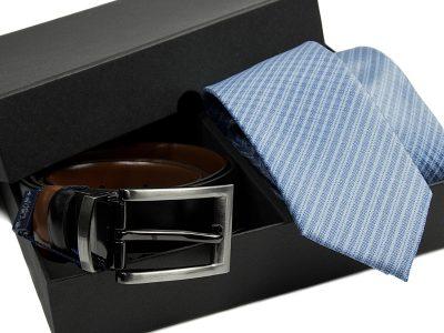 zestaw-krawat-pasek skórzany 495