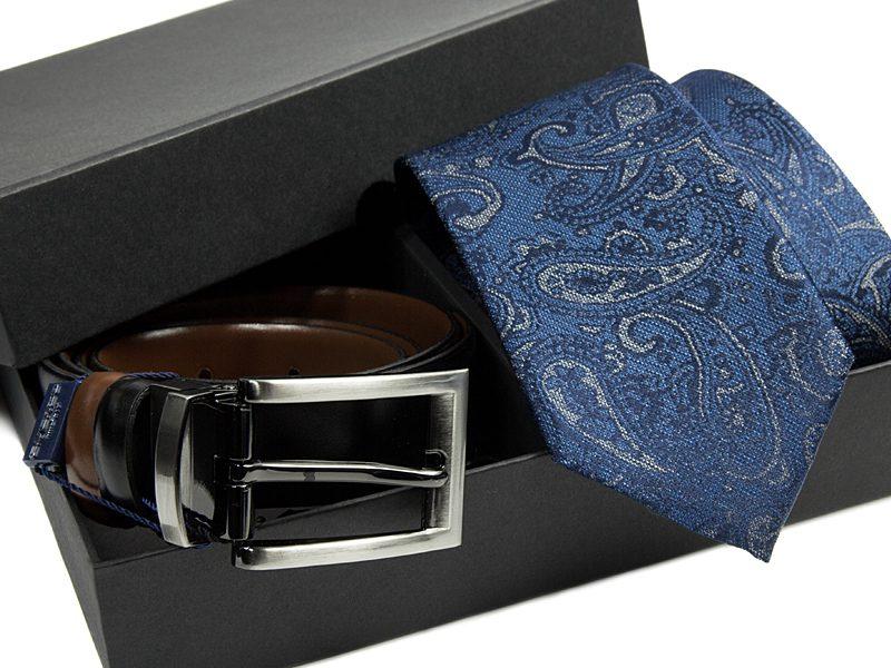 zestaw-krawat-pasek skórzany 511