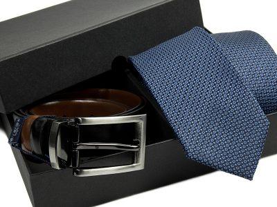 zestaw-krawat-pasek skórzany 539