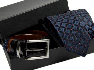 zestaw-krawat-pasek skórzany 550