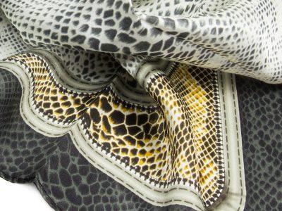 apaszka jedwabna snake -