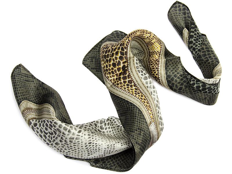 Apaszka jedwabna Snake