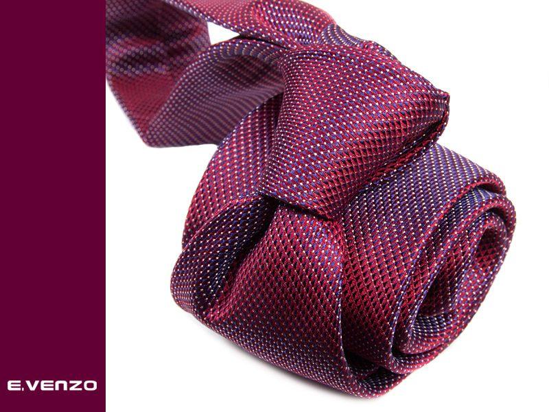 Krawat jedwabny Venzo 558