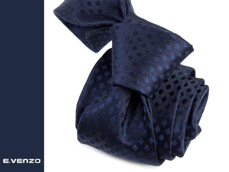Krawat jedwabny Venzo 559