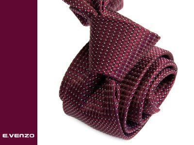 Krawat jedwabny Venzo 567