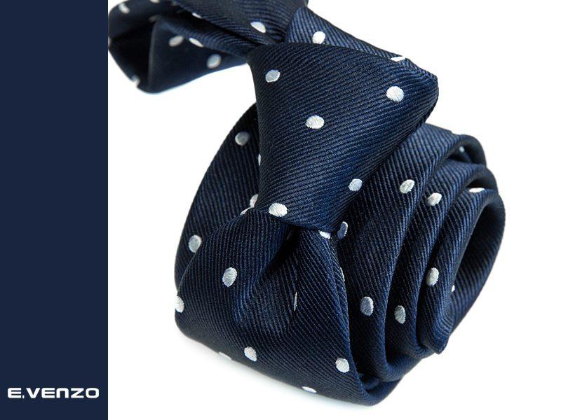 Krawat jedwabny Venzo 574