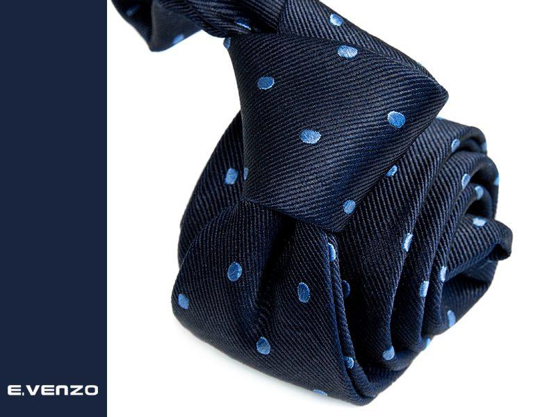Krawat jedwabny Venzo 575