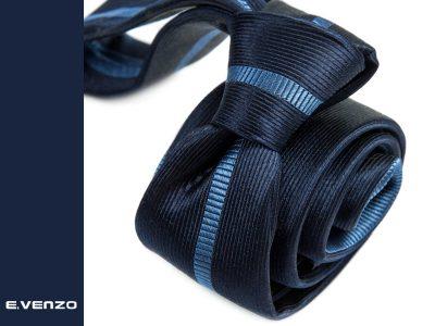 Krawat jedwabny Venzo 577