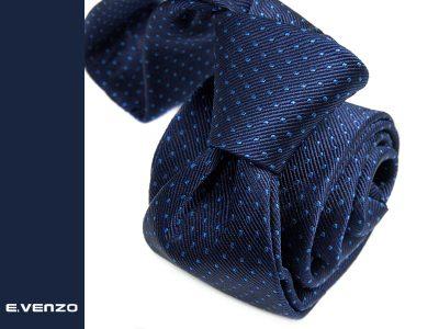 Krawat jedwabny Venzo 579