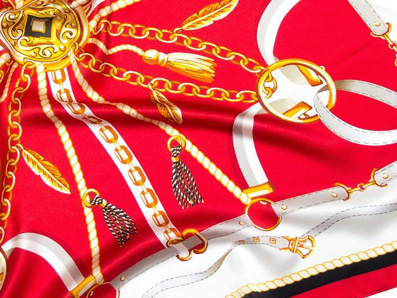 apaszka jedwabna ELENA-RED