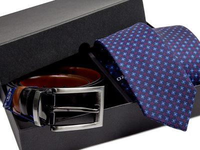 zestaw krawat + pasek 536