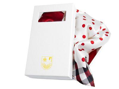 kartonowe pudełko na apaszki