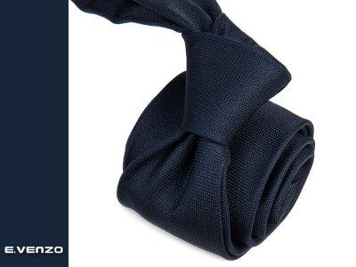krawat jedwabny venzo 595