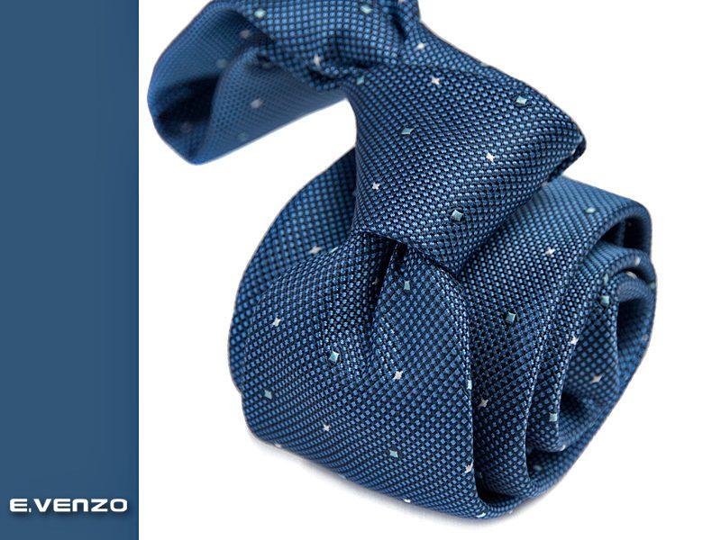 krawat jedwabny venzo 596