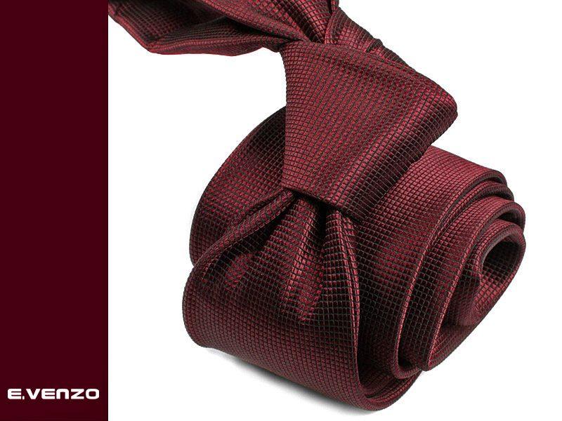 krawat jedwabny venzo 598