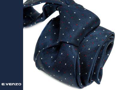 krawat jedwabny venzo 599