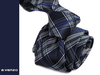 krawat jedwabny venzo 603