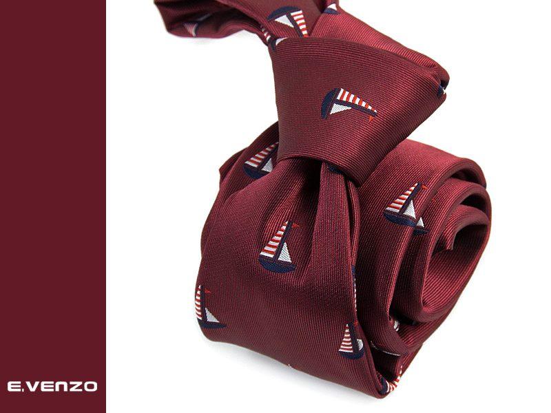 krawat marynistyczny MARINE-2