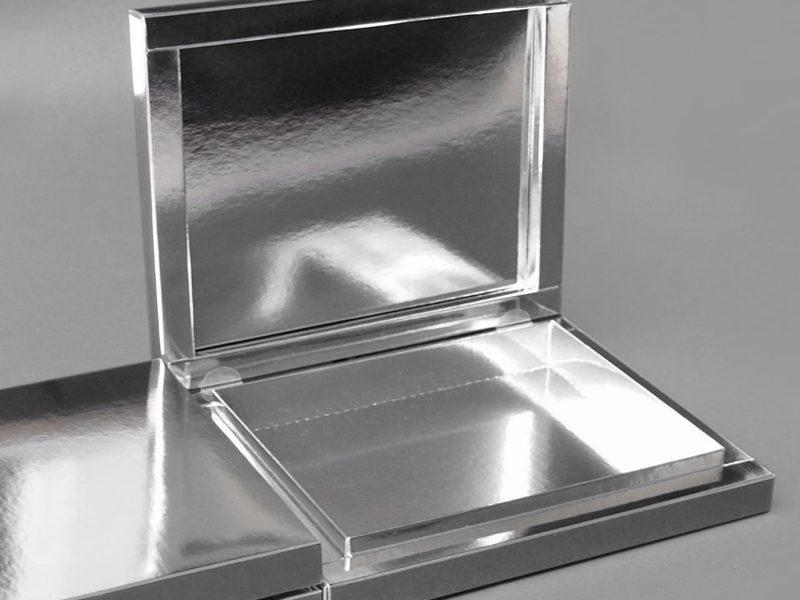 opakowanie na apaszkę srebrne