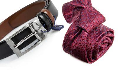 zestaw na prezent : krawat + pasek m694