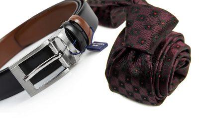 zestaw na prezent : krawat + pasek 551