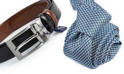 zestaw na prezent : krawat + pasek 562