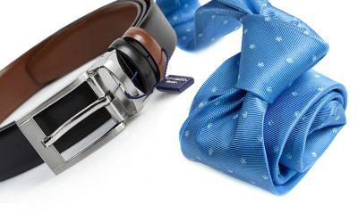 zestaw na prezent : krawat + pasek 576