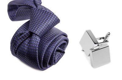 zestaw upominkowy: krawat m700 + spinki + pudełko