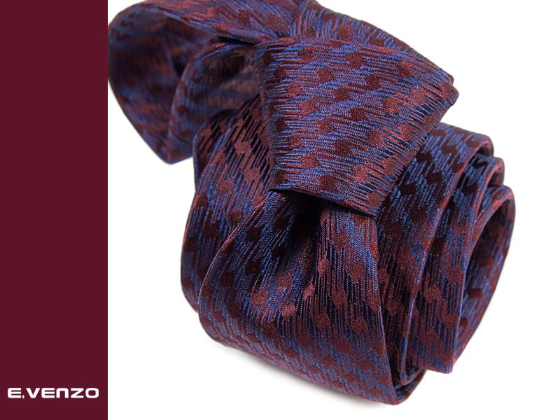 krawat jedwabny venzo 610