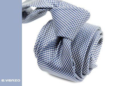 krawat jedwabny venzo 614