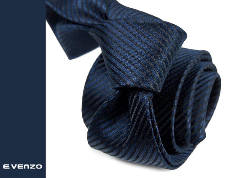 krawat jedwabny venzo 617