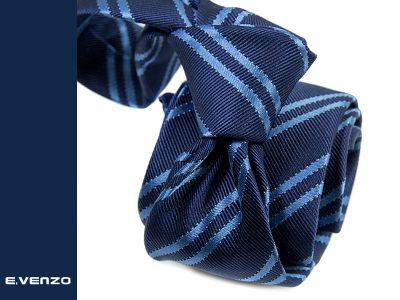 krawat jedwabny venzo 618