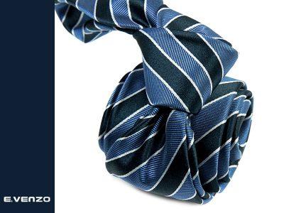 krawat jedwabny venzo 619