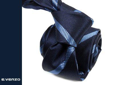krawat jedwabny venzo 621