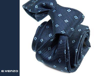 krawat jedwabny venzo 622