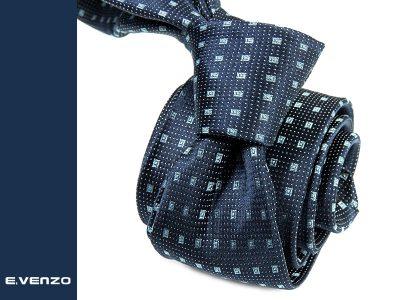 krawat jedwabny venzo 624