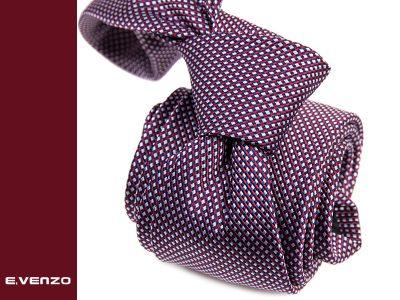 krawat z mikrofibry micro741