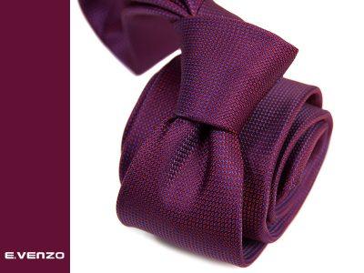 krawat z mikrofibry micro743