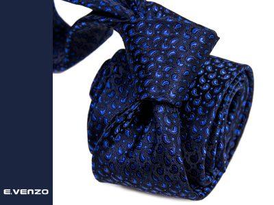 krawat z mikrofibry micro746