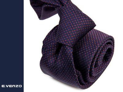 krawat jedwabny silk628