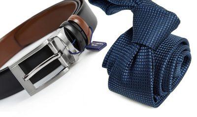 zestaw upomnikowy: Krawat + pasek s626