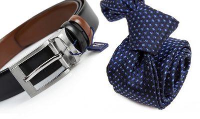 zestaw upomnikowy: Krawat + pasek s630