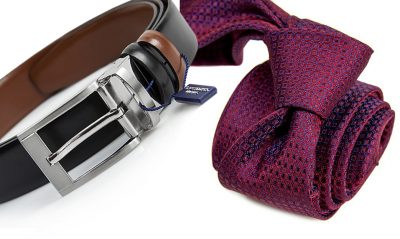 zestaw upomnikowy: Krawat + pasek s635