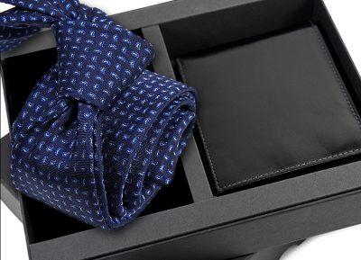 zestaw upominkowy -krawat-porftel-s631