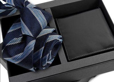 zestaw upominkowy -krawat-porftel-s632