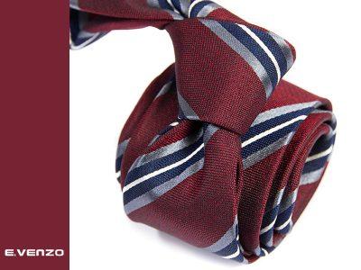 krawat jedwabny silk645